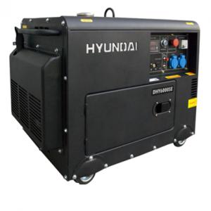 Máy phát điện chạy dầu 5kw hyundai